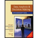 Data Analysis and Decision Making with Microsoft Excel, Revised (Book Only), Albright and Albright, S. Christian, 0324662475