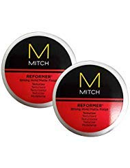 (Mitch Reformer Strong Hold Matte Finish Texturizer Duo Pack )