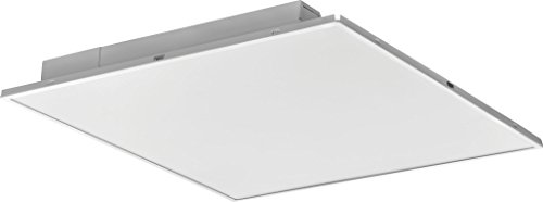 Lithonia Lighting 2ALT2 3400LM MVOLT DIM 2-Foot By 2-Foot Fully Luminous LED Lay-In Troffer Light with Smooth White Lens, White