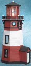 - Half-Inch Scale Kits New England Lighthouse Dollhouse Kit