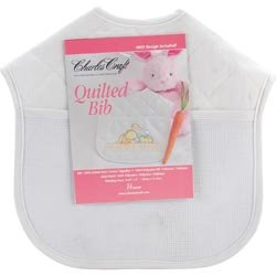 Bulk Buy: Charles Craft Quilted Baby Bibs 9