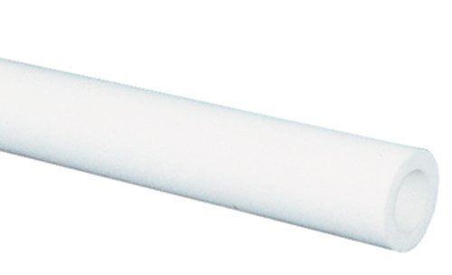 Soft 35A White Opaque High-Temperature Silicone Rubber for Air and Water - Inner Diameter 3/4'' - Outer Diameter 1'' - 5 ft by Gordon Glass Co.