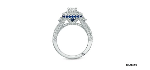 vera-wang-love-collection-172ct-tcw-princess-round-diamond-blue-sapphire-14k-white-gold-engagement-w