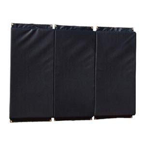 Standard Folding Backstop Padding (4ft x 10ft) Color: Black