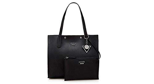 BAG VN677824 KINLEY NERO SHOPPING BORSA LARGE GUESS IBX1Bnp