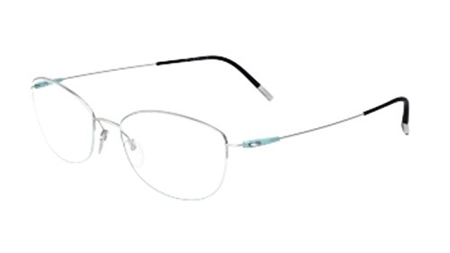 Eyeglasses Silhouette Dynamics Colorwave Nylor 4552 7000 silver 52/18/130 3 - Glasses Silhouettes