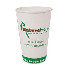 SVAC012 - NatureHouse Compostable Paper/PLA Cup