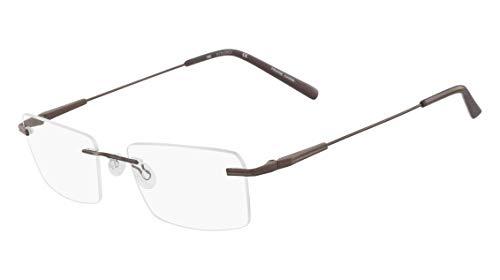 Óculos Airlock Caliber 202 210 Marrom Lente Tam 54