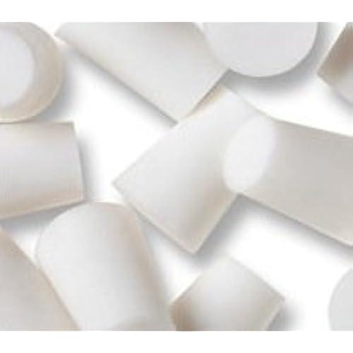 WIDGETCO #11 White Silicone Rubber Stoppers