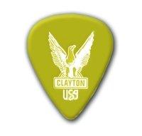Clayton US56 Ultem Tortoise Pick Standard .56mm /48 ()