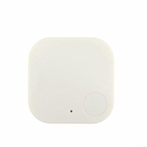 Smart Bluetooth Tracer Pet Child Wallet Key GPS Locator Tag Alarm(White) - 1