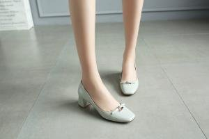hexiajia - Zapatos Planos con Cordones mujer Azul