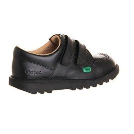 Kickers Kick Lo Vel Boys' School Shoes - Zapatos para niños Core Black
