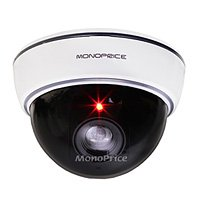 Monoprice 108429 Dummy Dome Camera with Switchable On/Off LED