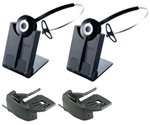 Jabra PRO 920 Mono Wireless Headset with GN1000 Remote Handset Lifter (2-Pack)