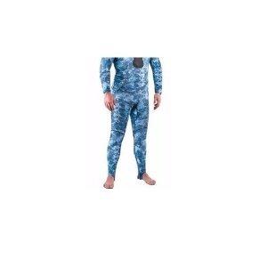 Mares Rash Guard Camo Pants - Blue - for Scuba Diving - Size Small