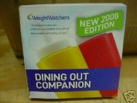 Read Online New 2008 Edition Weight Watchers Dining Out Companion pdf epub