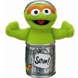 - Gund Sesame Street Oscar The Grouch Finger Puppet 4