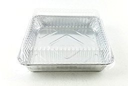aluminum casserole pan with lid - 8