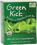 NOW Foods Real Tea Organic Green Kick -- 24 Tea Bags