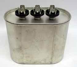 Motor Dual Run Capacitor Oval 30 + 5 uf MFD 370 Volt VAC 12969 by JARD