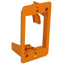 Construct Pro Slim Single Gang Open Back Low Voltage Bracket, Each