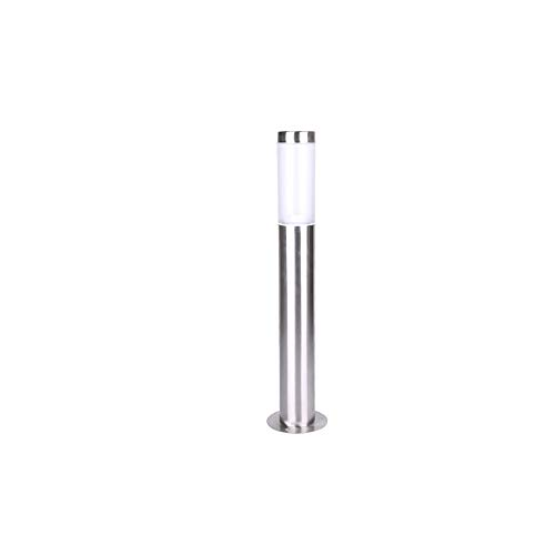 KMYX Stainless Steel LED Lawn Light High Light Transmission Acrylic Lampshade Bollard Light Waterproof IP55 Pathway Lighting Decoration Landscape Community Post Pillar Lantern (Size : 7.560cm)