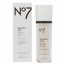 On No7 Skin Care - 7