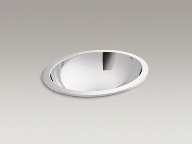 Bachata Drop-In/Undermount Bathroom Sink, No Overflow Finish: Mirror