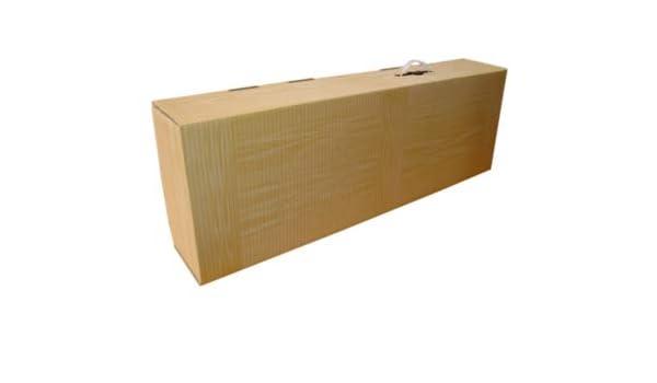 10 x Caja Jamonera Imitación Madera para jamón o paleta 85x26x15 ...