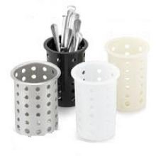 Vollrath Plastic Black Cylinder, 3 3/4 x 5 5/8 inch -- 12 per ()