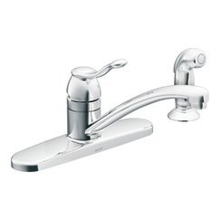 kitchen faucet moen adler - 8