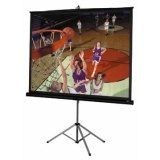 Picture King Matte White Portable Projection Screen Viewing Area: 92'' diagonal