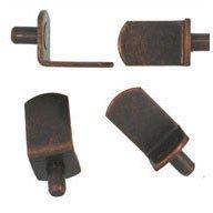 WIDGETCO 5mm Antique Bronze''L'' Shelf Pins