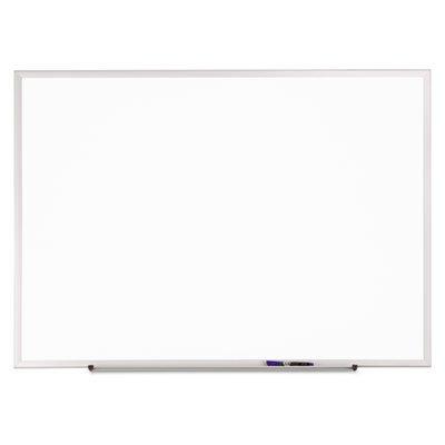Quartet Standard Melamine Dry-Erase Boards, Aluminum Finish Frame