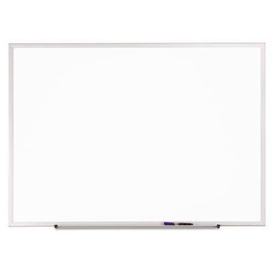 Classic Melamine Whiteboard, 96 x 48, Silver Aluminum Frame, Sold as 1 Each by Quartet