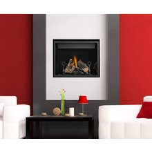 Napoleon HD40NT 27,000 BTU Direct Vent Clean Face High Definition Natural Gas Fireplace