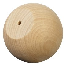 Wooden Ball Knobs / Doll Heads-Bag of 4 Wooden Ball Knob