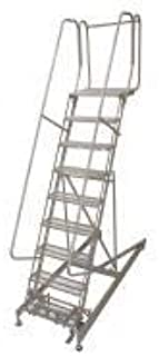 product image for Cotterman 4007R2632A1E20B4C1P6 - Rolling Ladder Steel 100In. H. Gray
