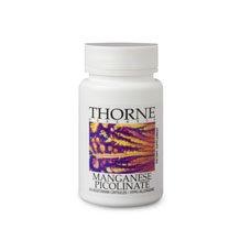 Thorne Research - Manganèse Picolinate 60C