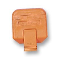 PERMAPLUG HDPT13ORG PLUG, 13A, RUBBER, ORANGE (5 pieces)