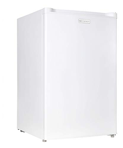 Emerson CR440WE 4.4 Cubic Foot Compact Single Door Refrigerator White