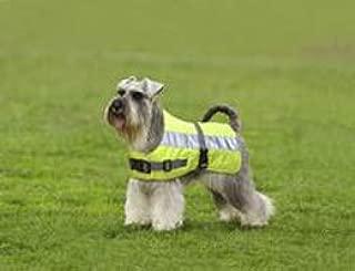product image for American Pet Diner 100DFHV028 Flectalon Dog Jacket Hi-Viz 28 in.