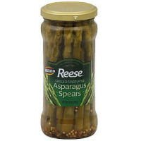 Reese Grilled Marinated Asparagus Spears, 12 Ounce - 6 per case.