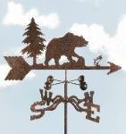 Bear Roof Mount Weathervane (Bear Weathervane)