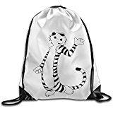 Price comparison product image NUBIA Thomas Tiger Backpack Gymsack Drawstring Sport Bag