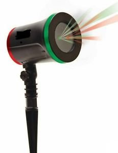 Star Night Laser Christmas Red/Green Light Shower Star With 8 Modes as Seen TV