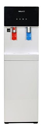 NewAir WAT40W Pure Spring BPA Free Hot & Cold Bottom Loading Water Dispenser, White