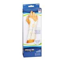 Sportaid Wrist Brace Deluxe Left, Beige Small 1 each by Sport Aid (Pack of 3)