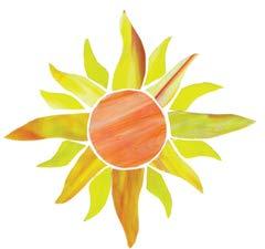 Sunburst Mosaic - Sunburst PRE-Cut